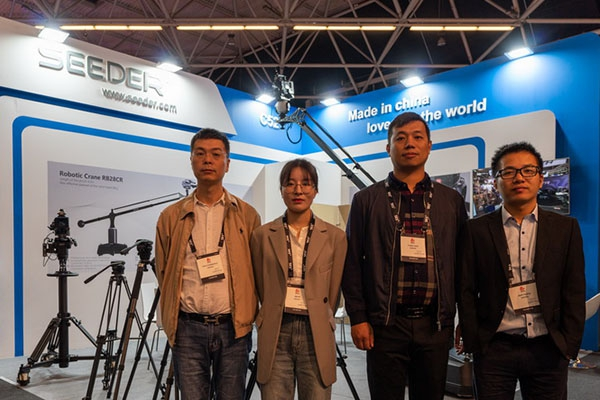 Seeder Attended the 2019 IBC on Schedule